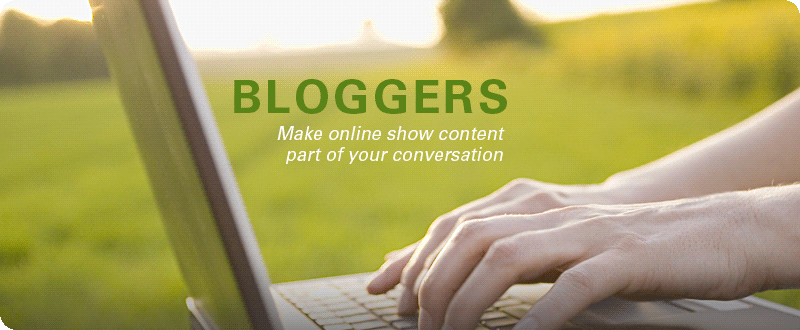 Bloggers: Make online show content part of your conversation